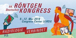 Picture of the invitation to the 99. deutscher Röntgenkongress